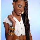 Big braid hairstyles