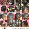 Black braided hairstyles for long hair