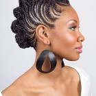 Black braided mohawk hairstyles