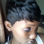 Black girls short hair styles
