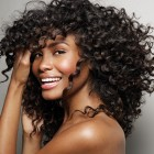 Black hairstyles with curls