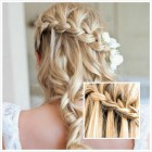 Blonde prom hairstyles