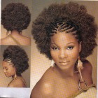 Braided afro hairstyles