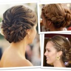 Braided up hairstyles