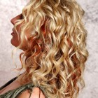 Casual curly hairstyles