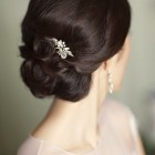 Chignon wedding hair