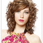 Curly layered haircuts