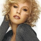 Curly short haircuts for women