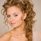 Curly side hairstyles