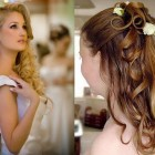 Curly wedding hairstyles for long hair