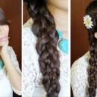 Cute braid hairstyles for long hair