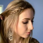 Cute school hairstyles for long hair
