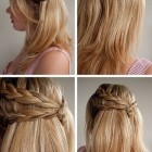 Different easy hairstyles for long hair