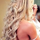 Down curly hairstyles for prom