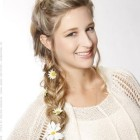 Formal braided hairstyles