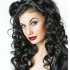 Funky curly hairstyles