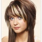 Haircuts for long hair with short layers