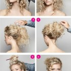 Hairstyles for curly hair 2014