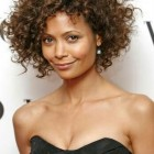 Hairstyles for short naturally curly hair