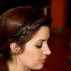 Holiday hairstyles for long hair