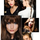 Latest hair trends for fall 2014