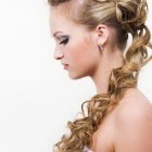 Latest hairstyle for wedding