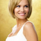 Latest short hairstyle for women 2014