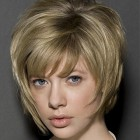 Layered wedge haircut