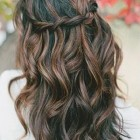 Long curly braided hairstyles