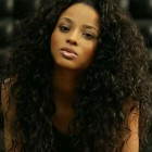 Long curly weave hairstyles