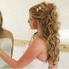 Long hair wedding hairstyles