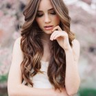 Long wavy bridal hairstyles
