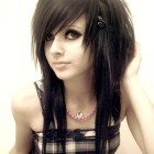 Medium emo haircuts for girls