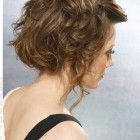 Medium length hairstyle updos