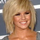 Mid hairstyles for women