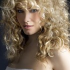 Natural curly hairstyles for long hair