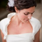 Naturally curly wedding hairstyles