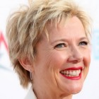 Photos of short haircuts for women over 50