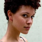 Pictures of short natural hairstyles for black women
