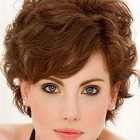 Professional short curly hairstyles