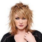 Rocker hairstyles for women
