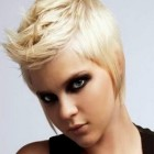 Short cropped hairstyles 2014