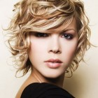 Short curly haircuts for girls