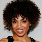 Short curly natural hair styles