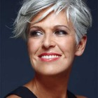 Short grey hairstyles for women
