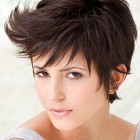 Short hair in style