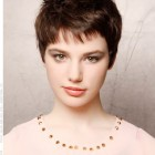 Short hair pixie styles