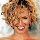 Short haircuts for curly thick hair