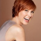 Short haircuts for redheads