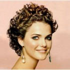 Short short curly hairstyles